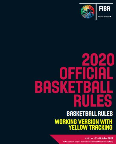 Измени на официјалните кошаркарски правила 2020