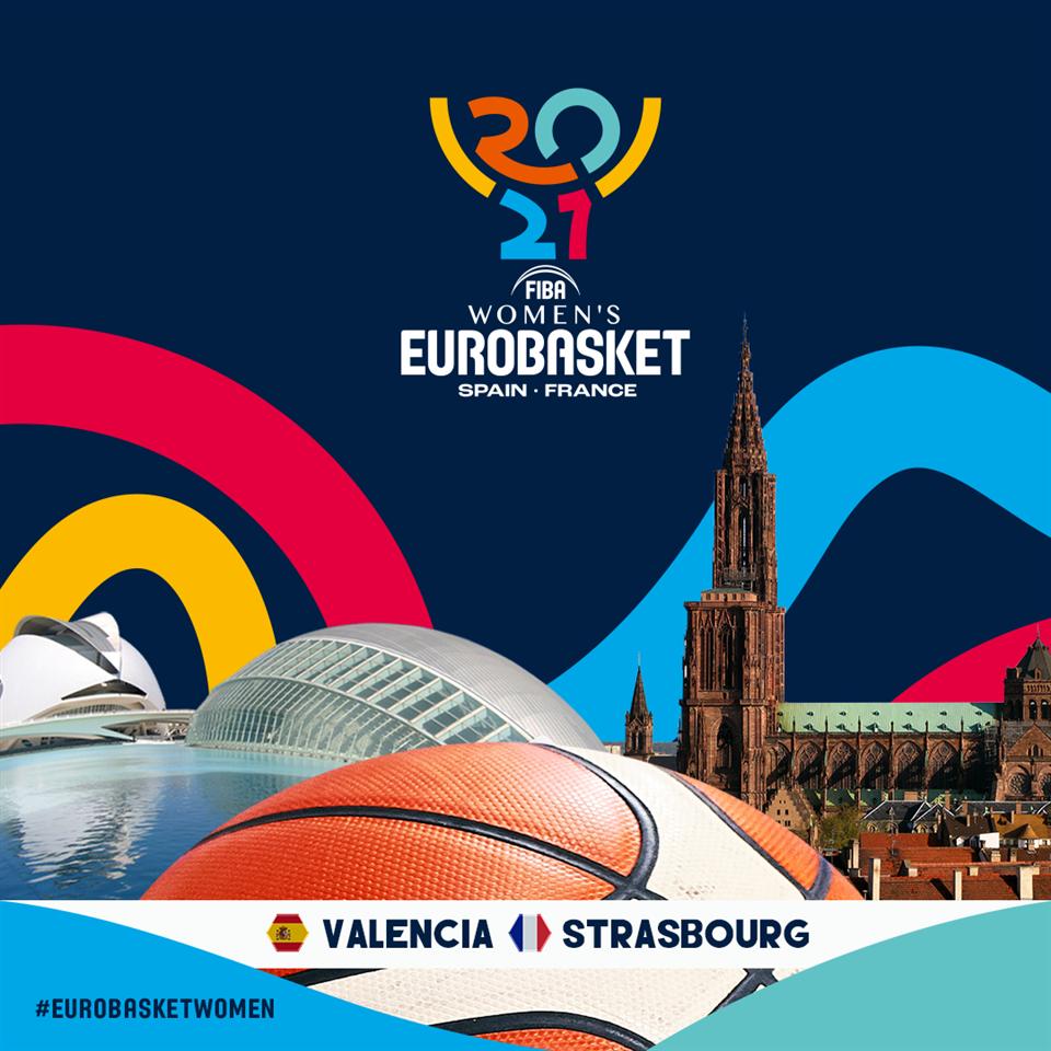 Стразбур  е вториот град-домаќин на женскиот Евробаскет во 2021 година