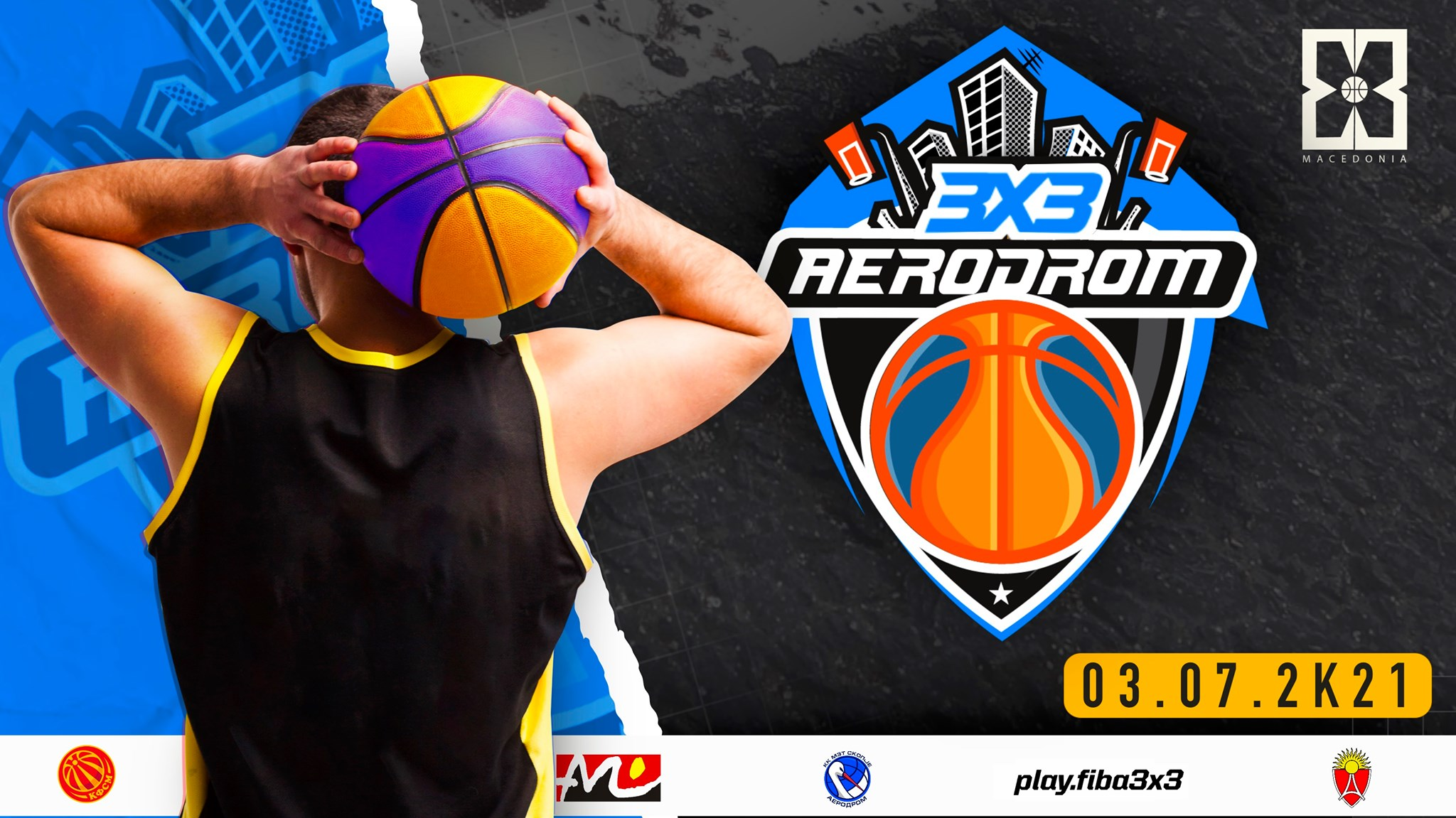 Стартува летната 3х3 лига со турнир во скопски Аеродром