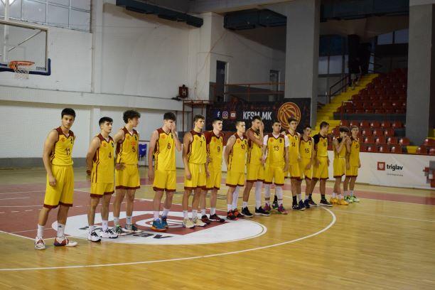 Младинците на Украина подобри од македонските јуниори