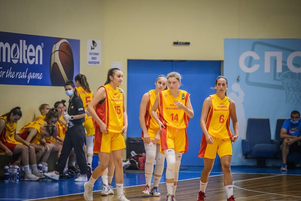 """ФИБА """"ЧЕЛЕНЏЕР""""-""""ПОД 18""""-ЖЕНИ: Прва победа за македонските јуниорки во Софија"""