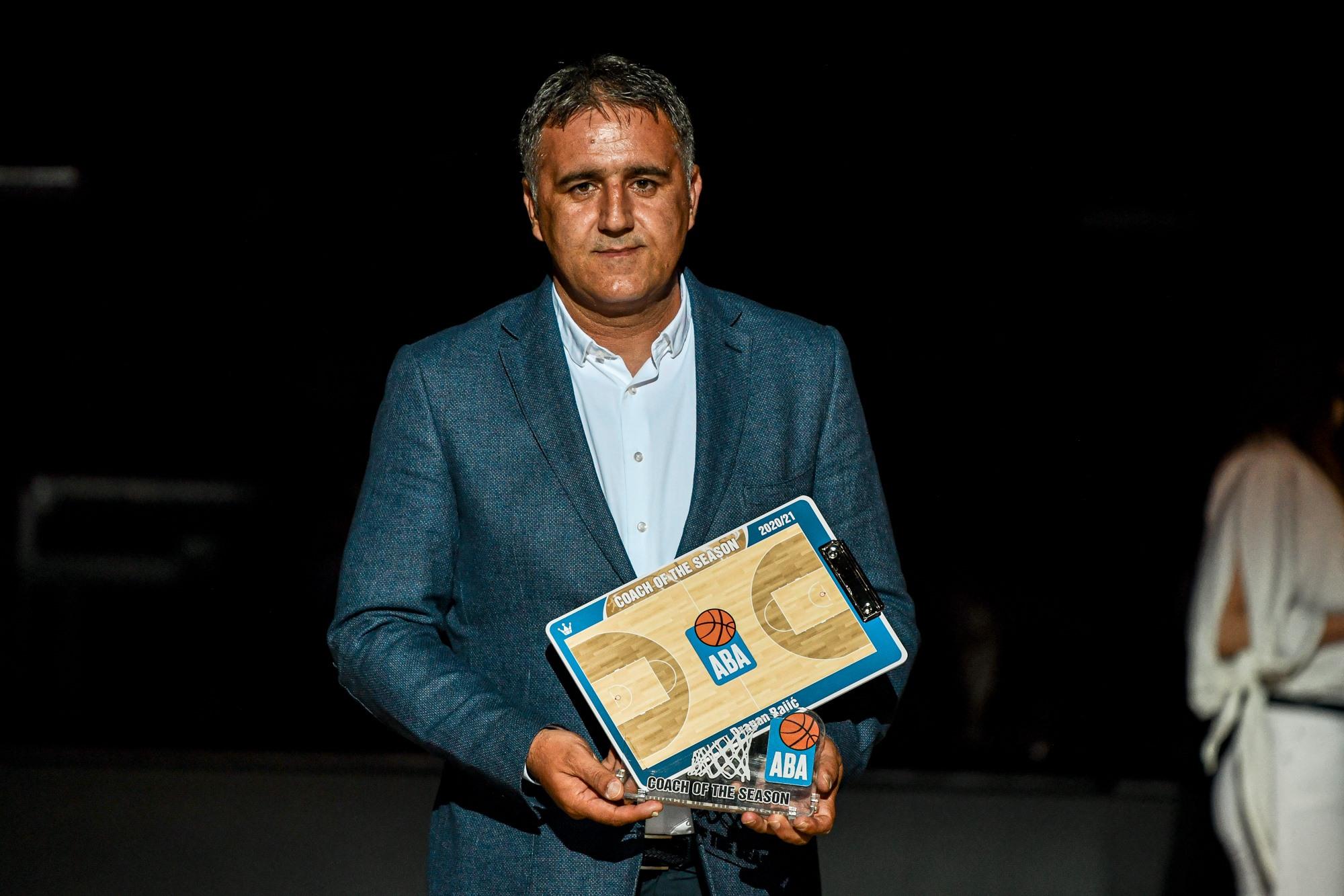 АБА ЛИГА: Драган Бајиќ ја доби наградата за тренер на годината!