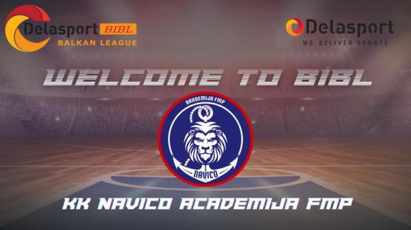 Навико Академија ФМП ќе учествува во БИБЛ лигата
