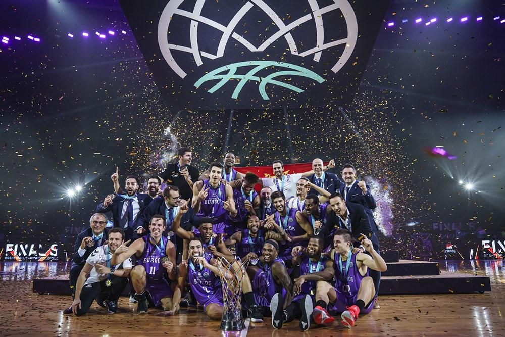 """ФИБА ЛИГА НА ШАМПИОНИ: Историски триумф за """"малиот"""" Сан Пабло Бургос, прв европски пехар во кратката историја на постоење!"""