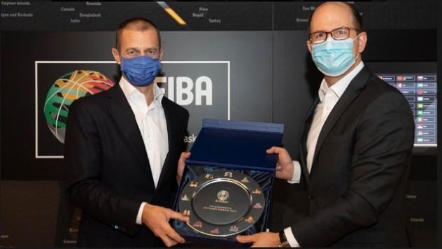 ФИБА и УЕФА ги делат заедничките вредности, засновани на солидарност и отворени натпреварувања