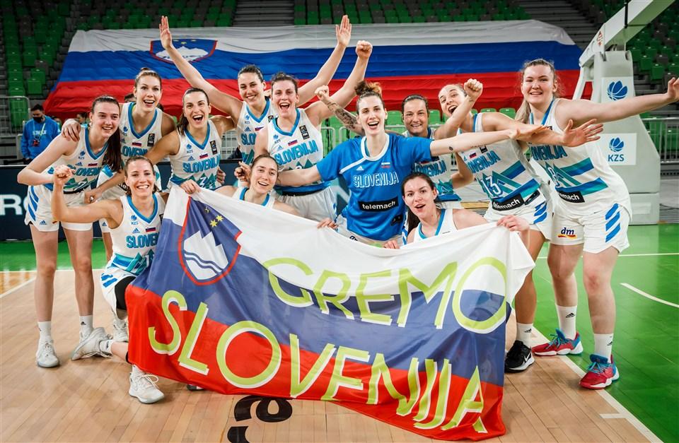 Словенија и Израел – ко-организатори на женскиот Евробаскет во 2023 година