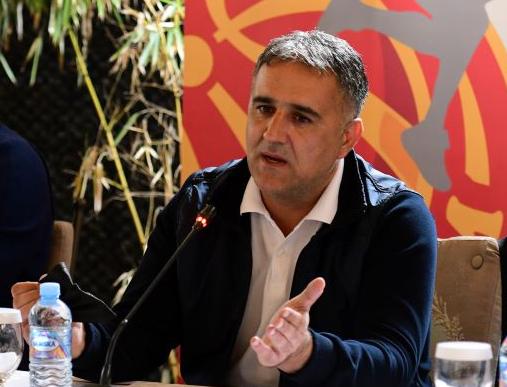 """Селекторот Драган Бајиќ со свој став по ждрепката: """"Секоја селекција заслужува респект, не стравуваме од никого!"""