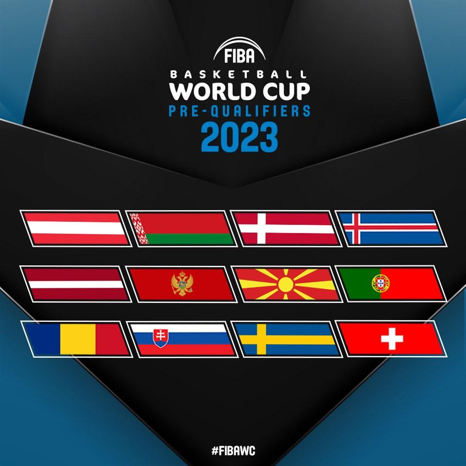 Познати се учесниците на вториот круг од претквалификациите за Светското првенство