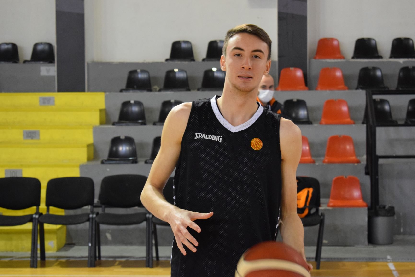 """Најмладиот во националниот тим: """"Верувам дека можеме да направиме позитивен резултат во Талин"""""""