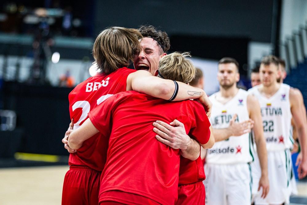 """ТРЕТ КРУГ ОД ЕВРО КВАЛИФИКАЦИИТЕ: Данците напишаа своја кошаркарска """"бајка"""""""