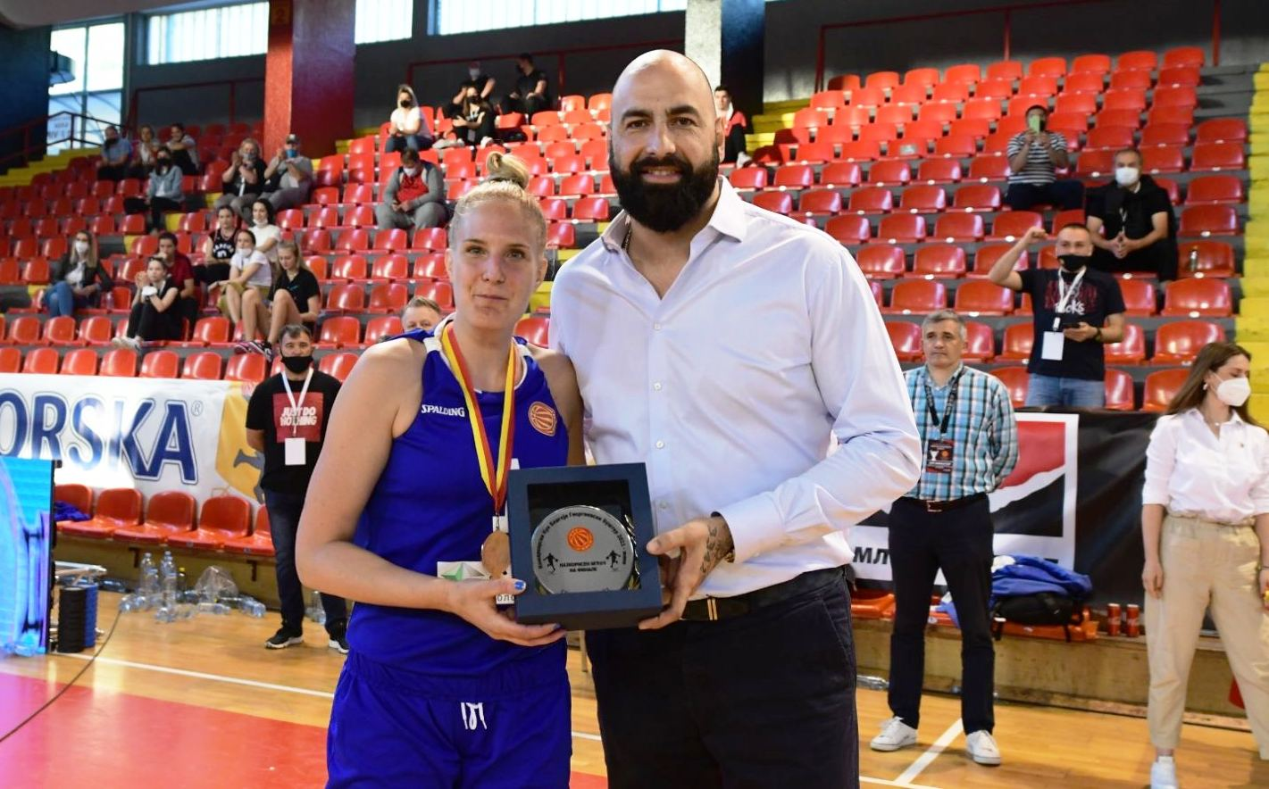 Драгана Гобељиќ - најкорисен играч на финалето