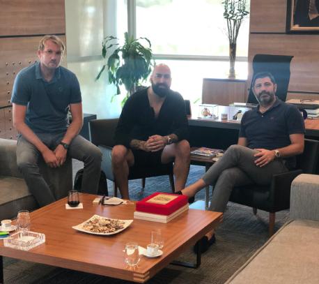 Претседателот Перо Антиќ и спортскиот директор Тодор Гечевски во работна посета на Кошаркарската Федерација на Турција