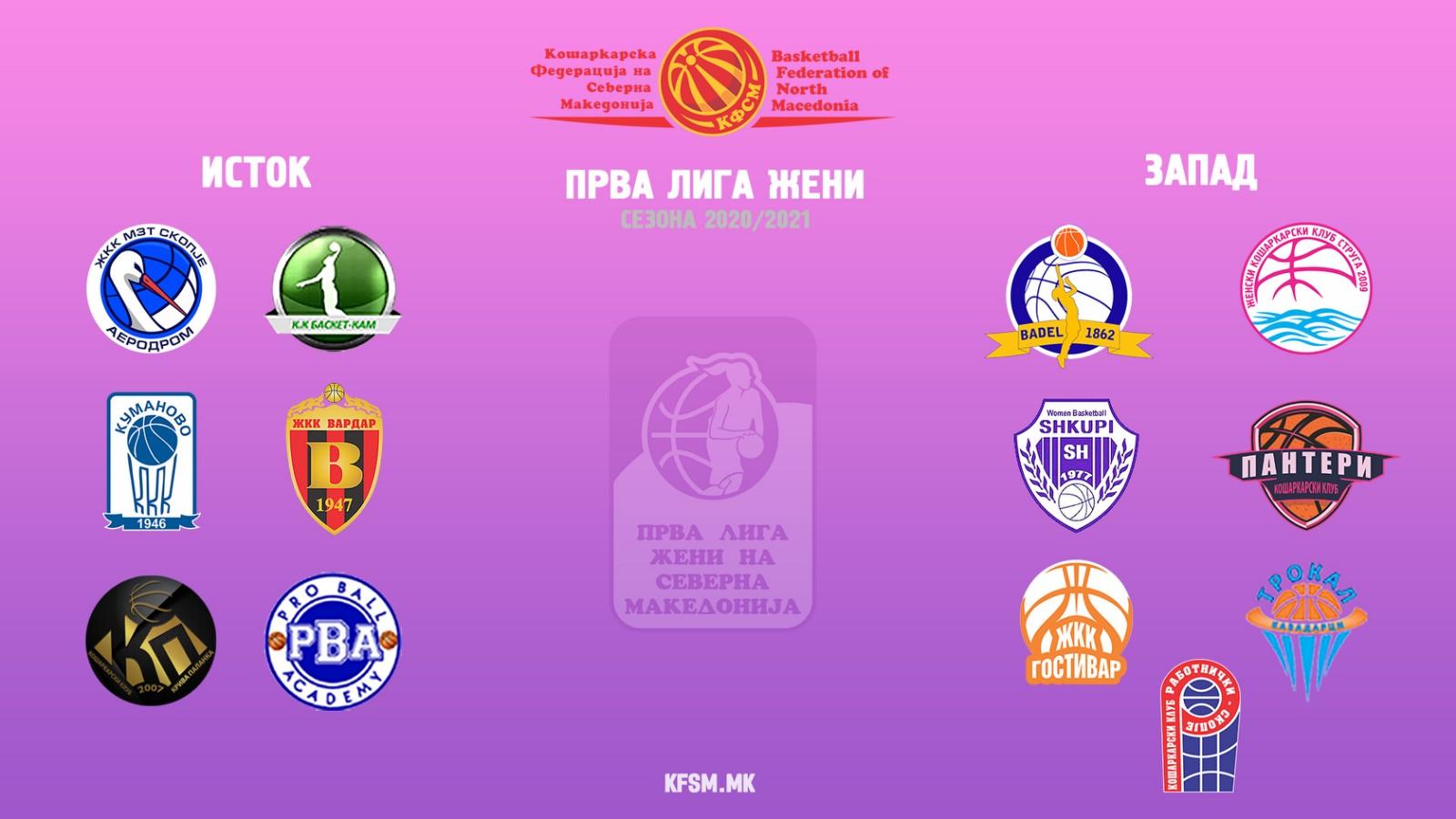 Викендов почнува новата натпреварувачка сезона во Првата лига-жени