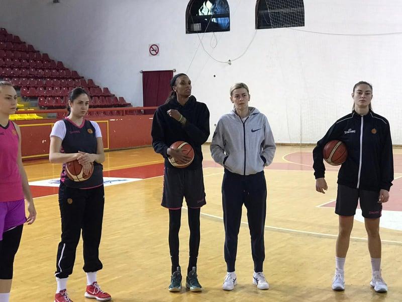 Девана Бонер во Охрид, веќе го одработи и првиот тренинг