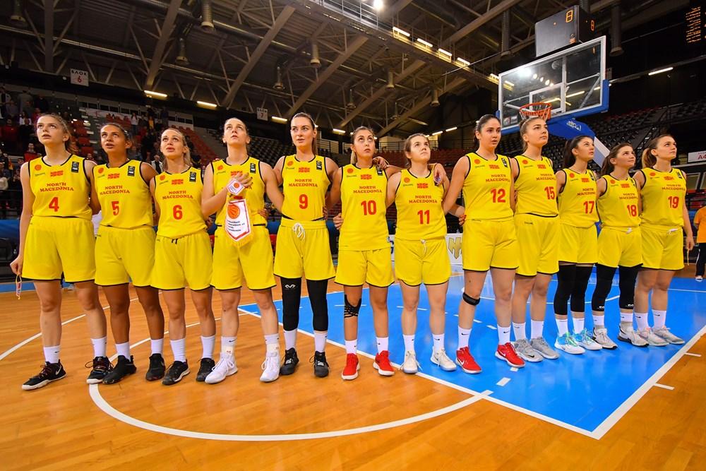 Список на кошаркарки за ноемврискиот циклус на квалификации за Евробаскет 2021