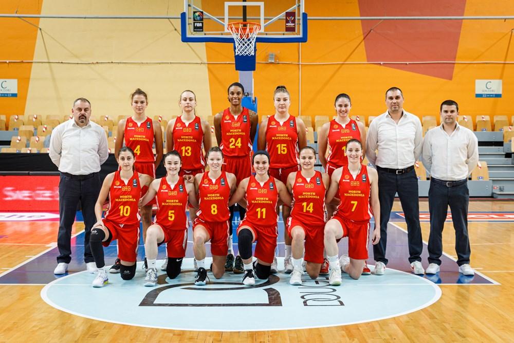 Македонија е на 38. место во европскиот, и на 75. место на светскиот рејтинг на ФИБА во женска конкуренција