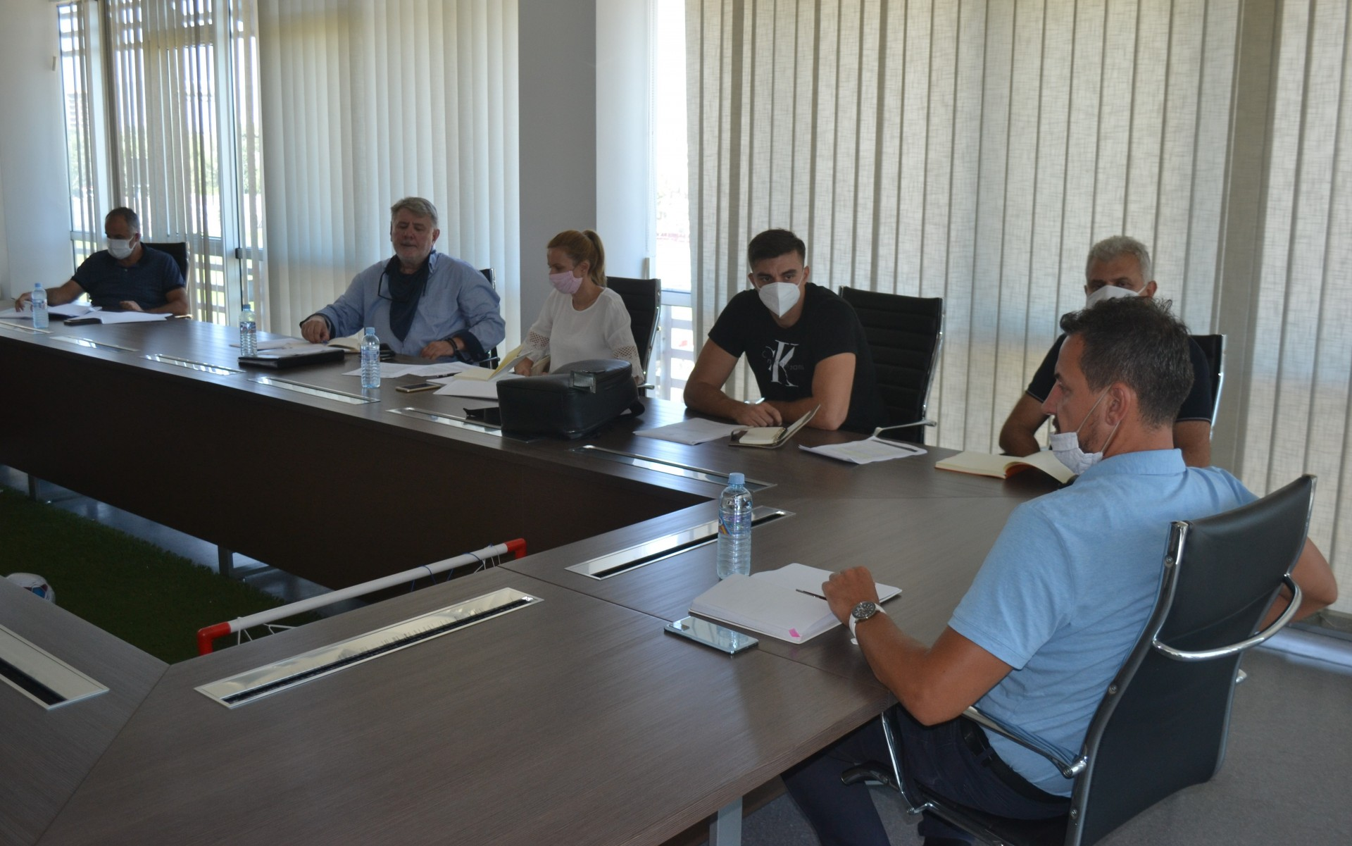 """Генералните секретари на најголемите федерации одржаа работен состанок на тема: """"Здравствени протоколи за спортските натпревари"""""""