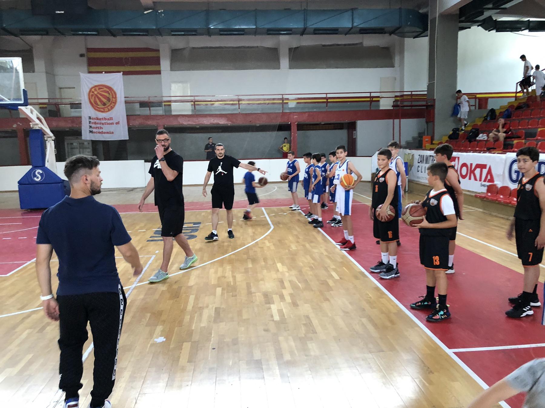 Селектирани 60. кошаркар(к)и за годишниот национален спортски камп