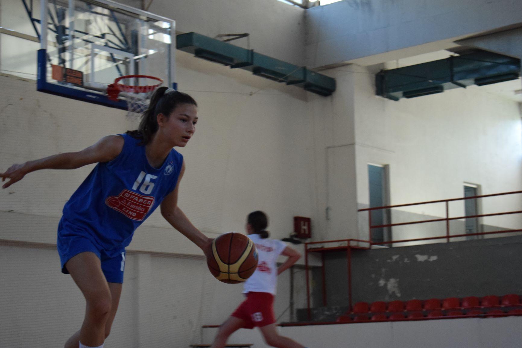 Реализиран првиот дел од селектирањето на кошаркарки родени 2007 и 2008 година