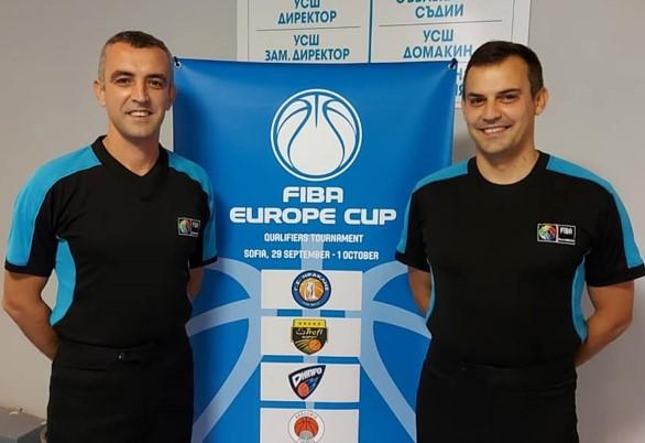 Браќата Митровски влегоа  во историјата на ФИБА натпреварувањата