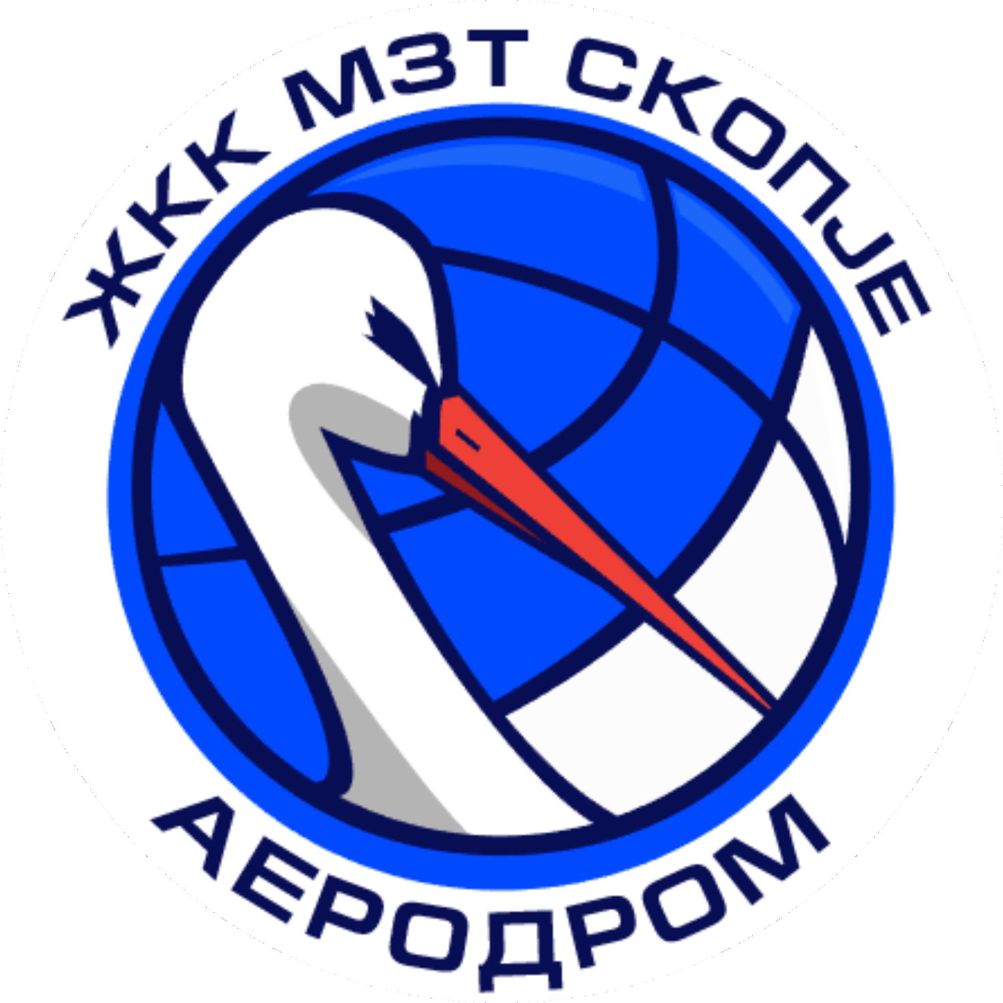 ЖКК МЗТ Скопје Аеродром Лого
