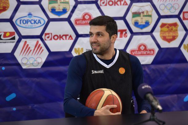"""Војдан Стојановски: """"Со добра атмосфера и 200% од нашите можности, можеме да одиме на ЕП"""""""