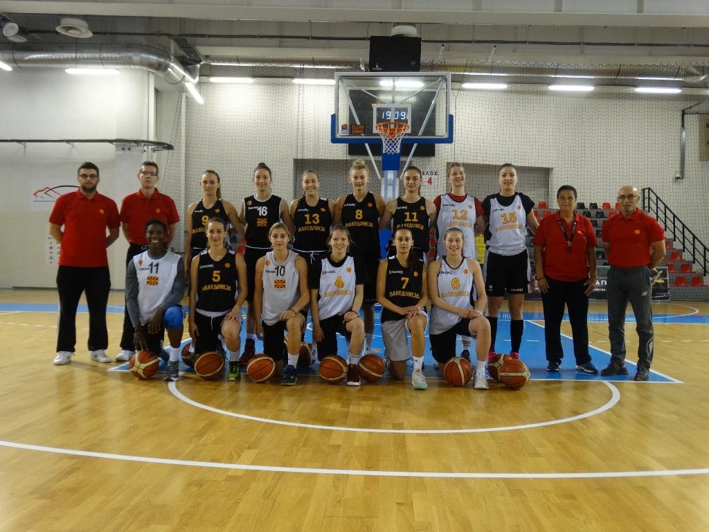 Поширок список на кошаркарки повикани за евроквалификациите во ноември