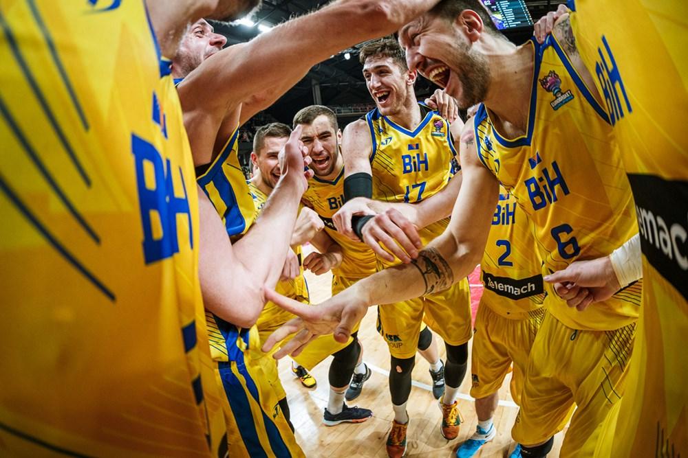 """КОМПЛЕТИРАНО ПРВОТ0 КОЛО ОД ЕВРО-КВАЛИФИКАЦИИТЕ: Белгиските """"лавови"""" силно против Литванија, злато вредна победа за БиХ"""