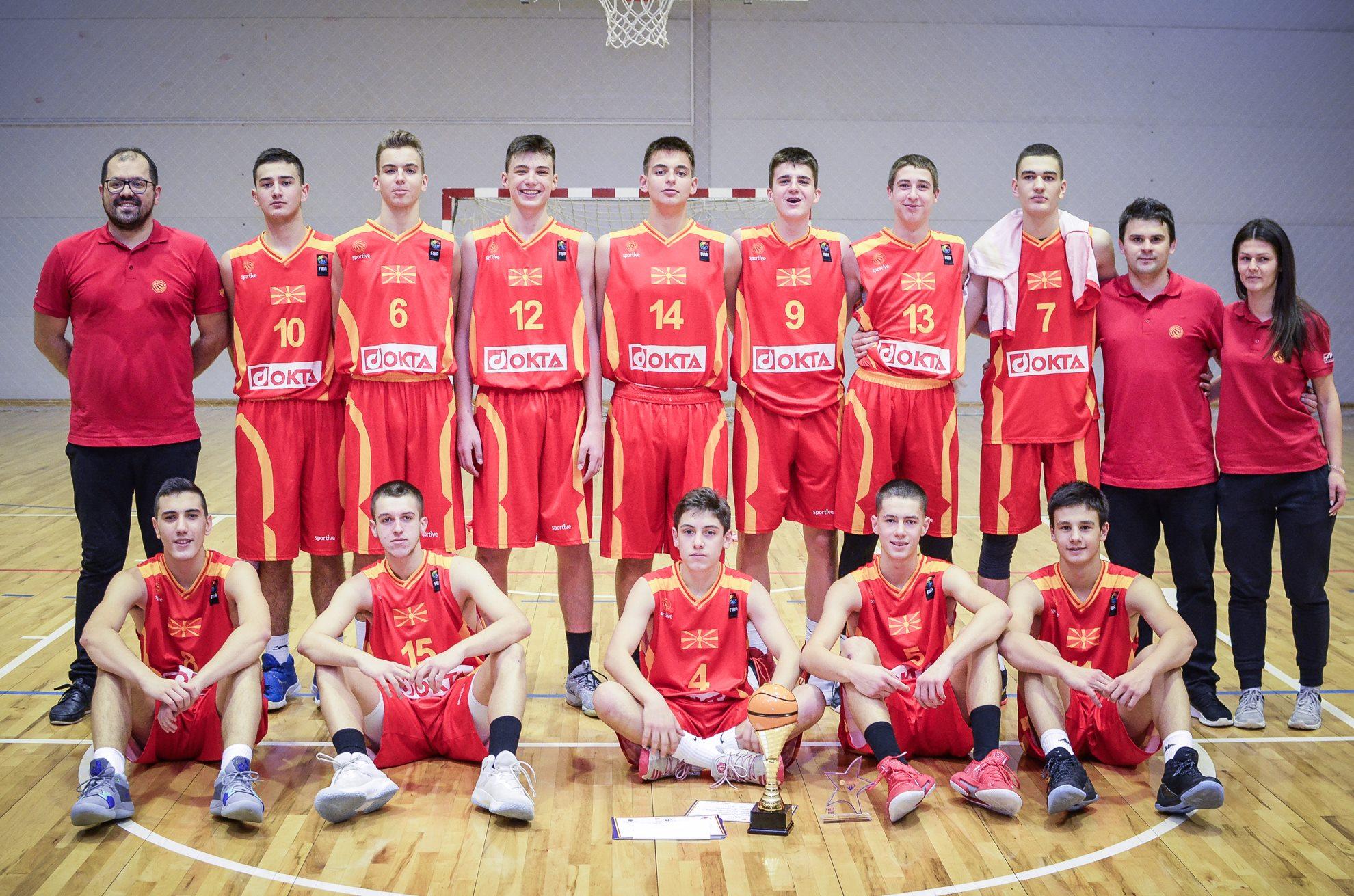 Список на кошаркари повикани за репрезентација до 16 години