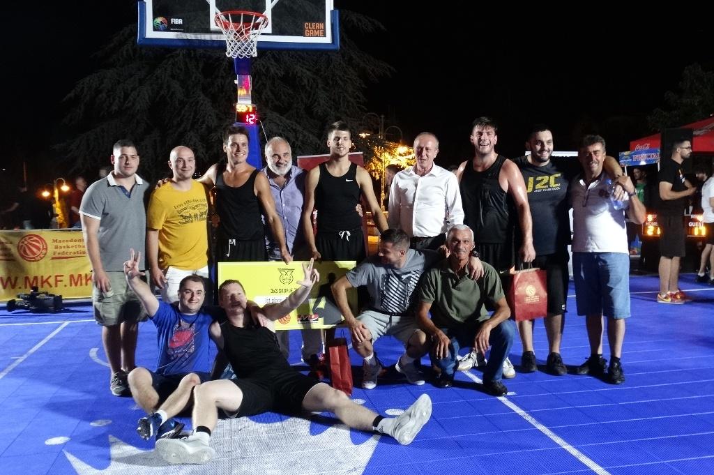Екипата Олимп го освои 3х3 турнирот Skopje2k17