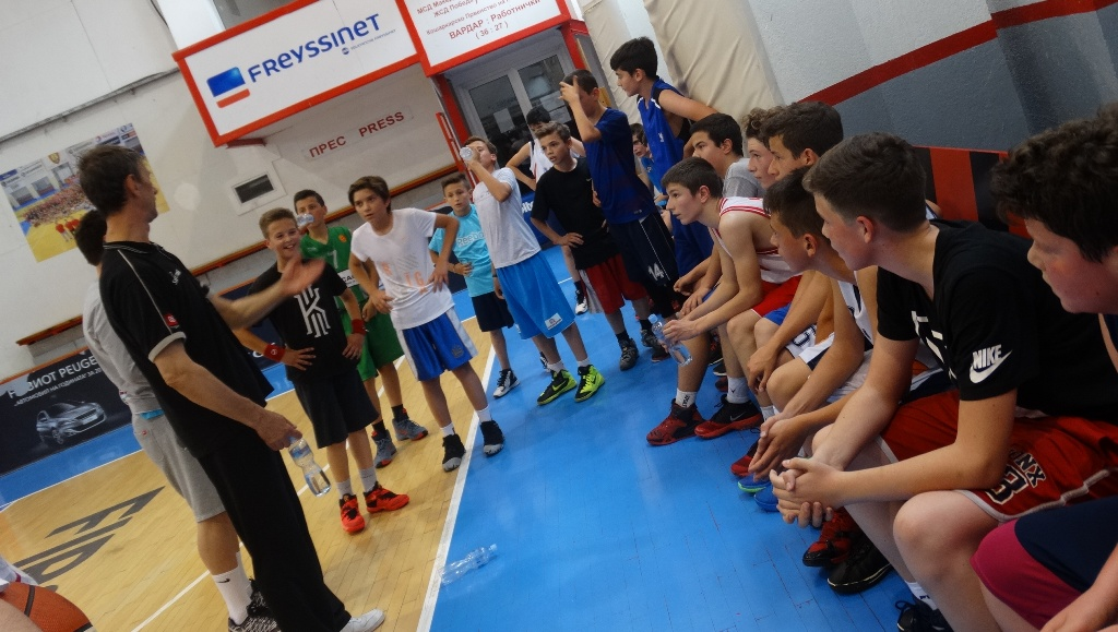 ФОТО: Одржан прв селективен тренинг за генерација М13