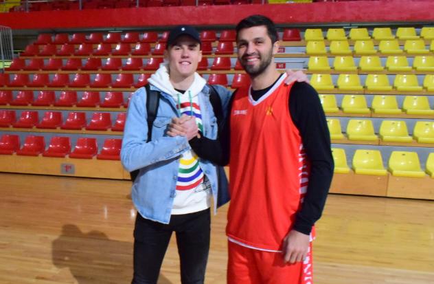 Сега сме комплетни: Ненад Димитријевиќ на тренинг