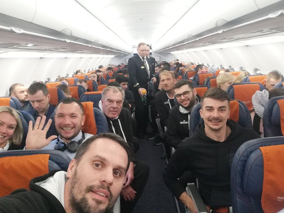 Репрезентацијата пристигна во Перм