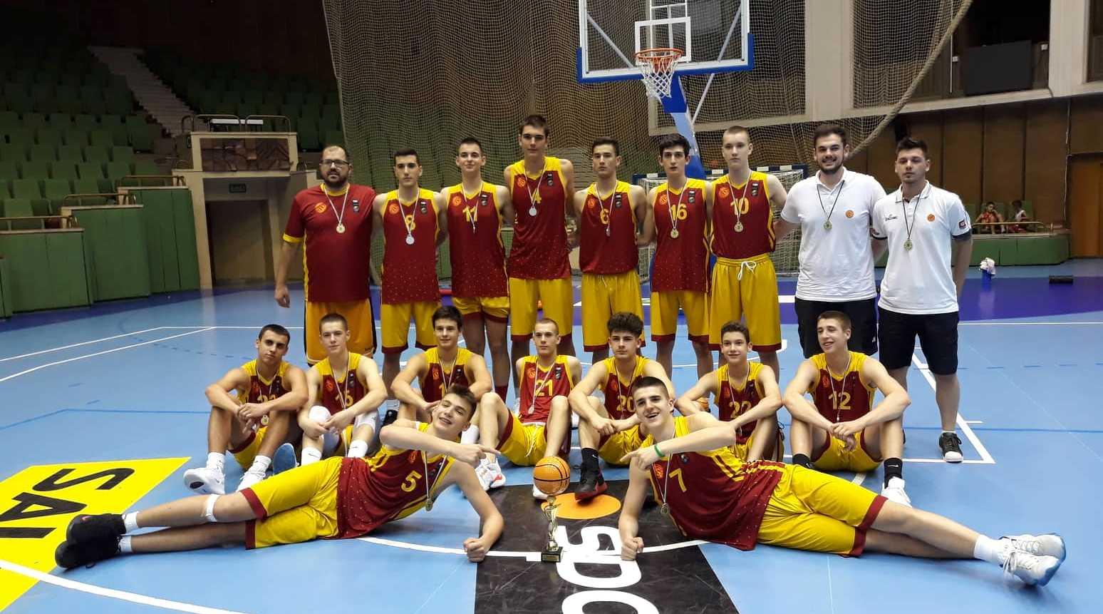 Кадетите ќе разигруваат со Израел, Полска и Чешка на пријателски турнир во Скопје