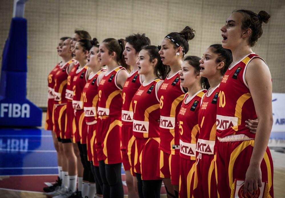 Список на кошаркарки повикани за кадетска репрезентација