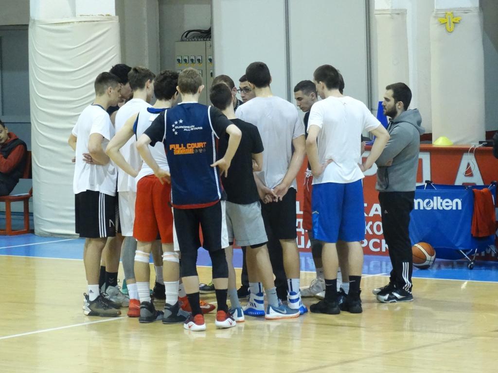 Втор селективен тренинг за кошаркари до 18 години