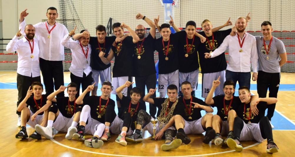 М15: Момците на Партизан Мулти Шпед ја освоија шампионската титула