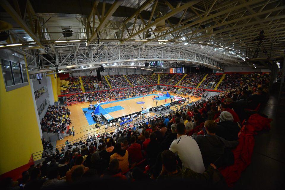 """Македонската репрезентација меѓу најгледаните во февруарскиот """"прозорец"""" на ФИБА"""