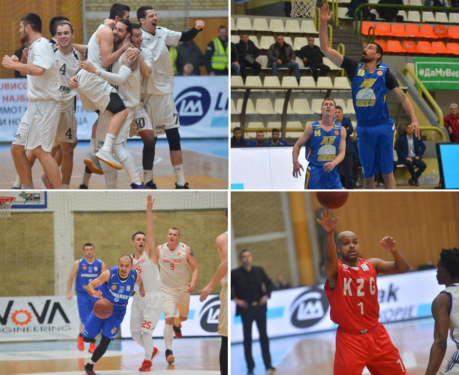 Победи за АВ Охрид, Куманово, Фени Индустри и за Кожув во последното коло