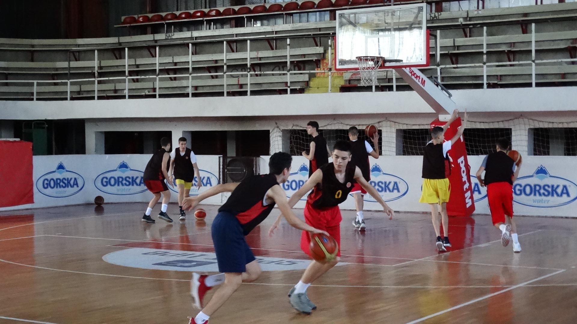 Кадетите заминуваат за Бугарија на пријателски натпревари и на турнир