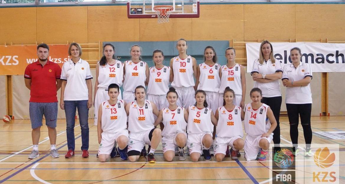 Селективен тренинг за кошаркарки родени 2004 година