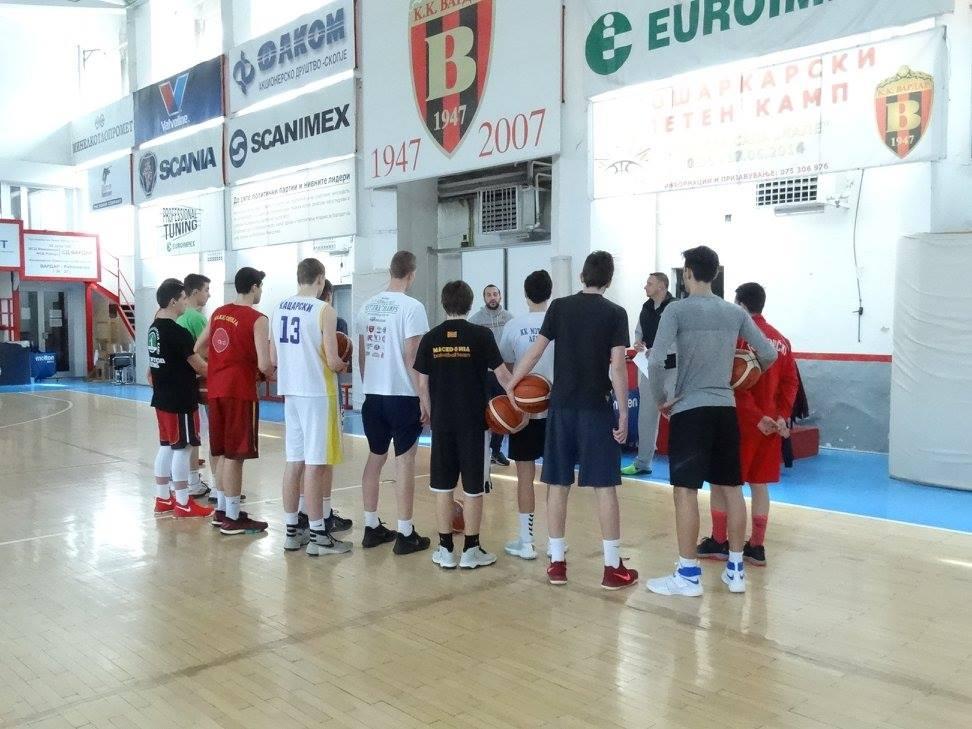 Одржан првиот селективен тренинг за кошаркари до 16 години