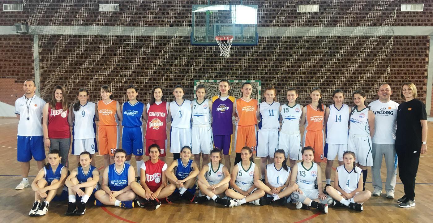 Одржан втор селективен тренинг за кошаркарки до 14 години
