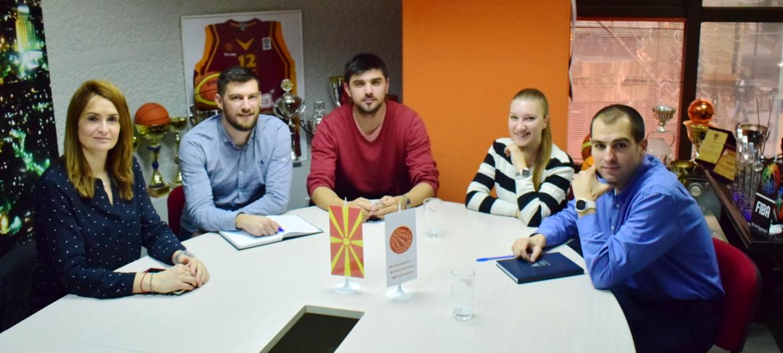 Работна средба помеѓу Асоцијацијата на кошаркарски играчи и Комисијата на спортисти при МОК