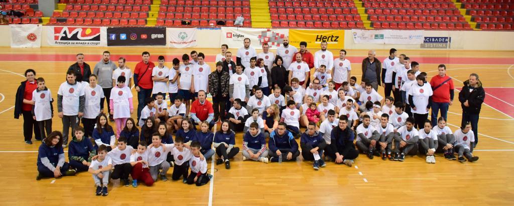 Специјалната Олимпијада ја одбележува европската кошаркарска недела