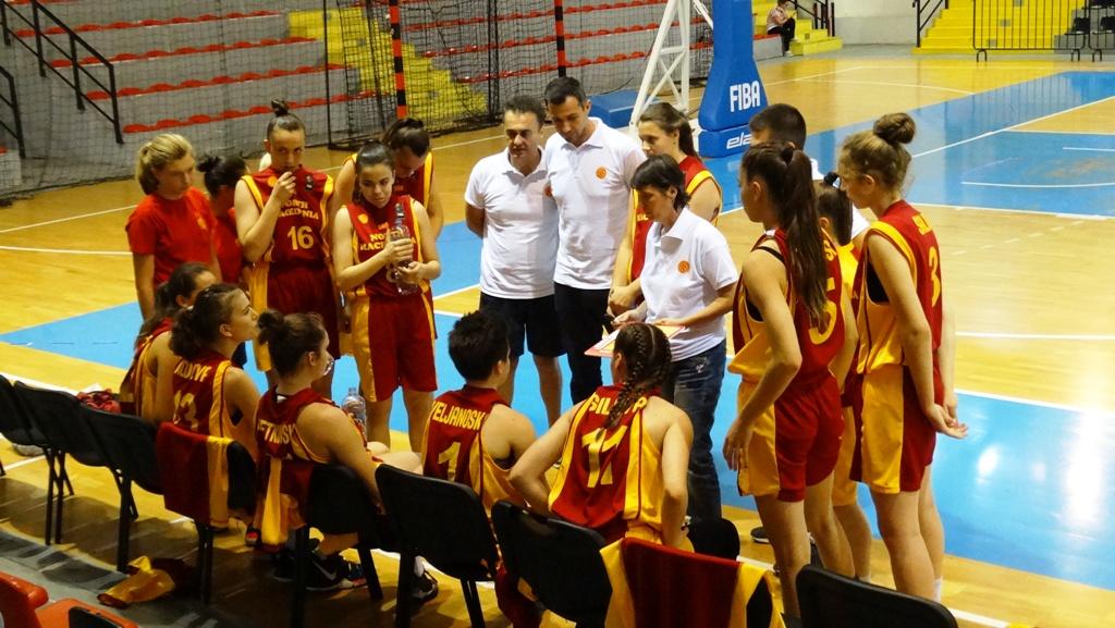 Кадетките без победа на турнирот во Скопје