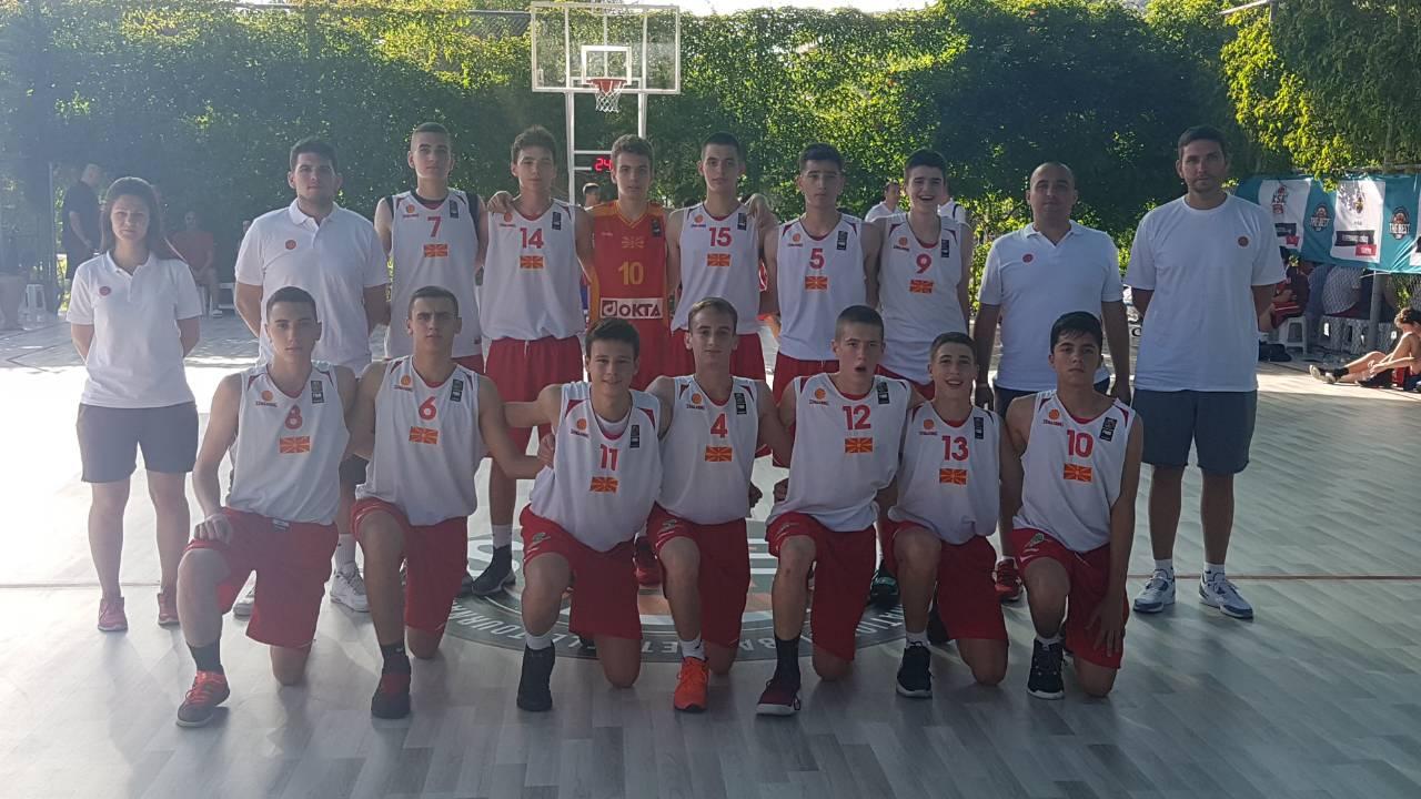 Уште две победи за селекциите до 14 и до 15 години на камп-турнирот во Турција