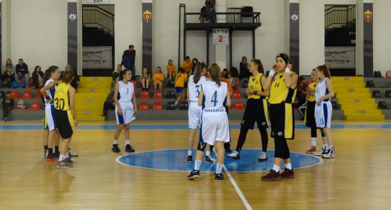 Турнир М14: Трофејот во рацете на кошаркарките на Трокал
