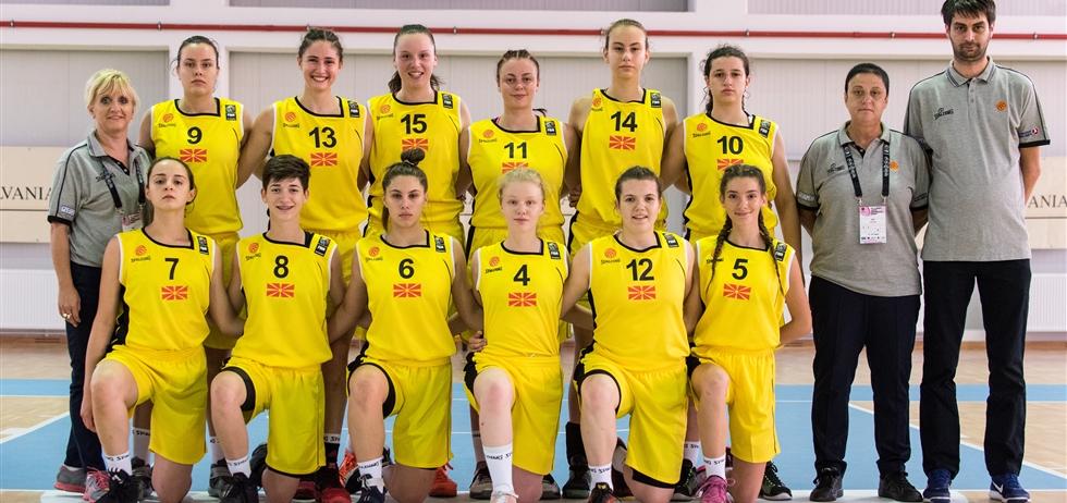Историја на настапи на М16 репрезентација (ЖЕНИ)