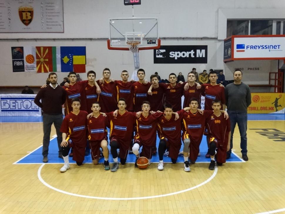 """Список на кошаркари за турнир во Букурешт како дел од проектот """"Заедно до М16"""""""